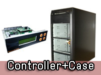 CD DVD BD Controller + Case Duplicator